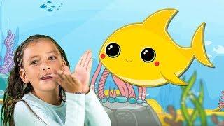 Baby Shark en Español   Bebé Tiburón   Canción Infantil y Rimas para Niños