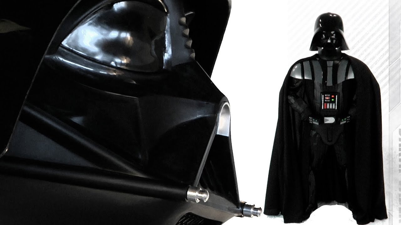 Darth Vader Costume Authentic Youtube