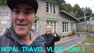 Nepal Travel Vlog Day 3 - Monjo to Namche Bazaar (Most Grueling Day ever)