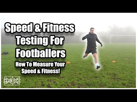How To Test Your Speed & Fitness   Footballer Tries Sprint, Agility & Bleep Test   Lockdown Training