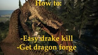 Easy drake and early dragon forge guide (Dragon