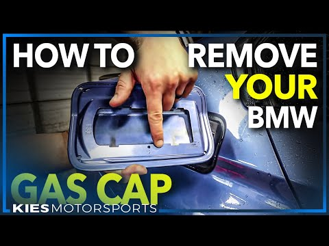 How to Remove a BMW F30 Gas Door (For Color Matching an M Sport Conversion!)