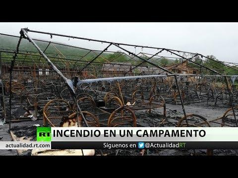 Rusia: Varios niños mueren al incendiarse sus tiendas de campaña en un campamento