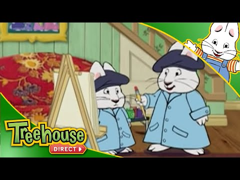 Max and Ruby: Arts, Crafts and Writing Compilation! | Back to School Cartoons For Kids