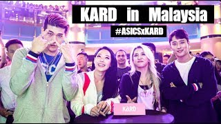 KARD @ ASICS's GEL-BND KL Launch Party: Dumb Litty + Bomb Bomb + Oh Na Na + Don't Recall