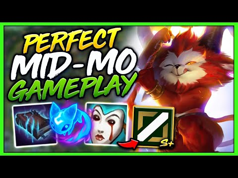 #1 TEEMO WORLD EASILY DOMINATE MID LANE EVERY GAME (PERFECT MECHANICS) - League of Legends
