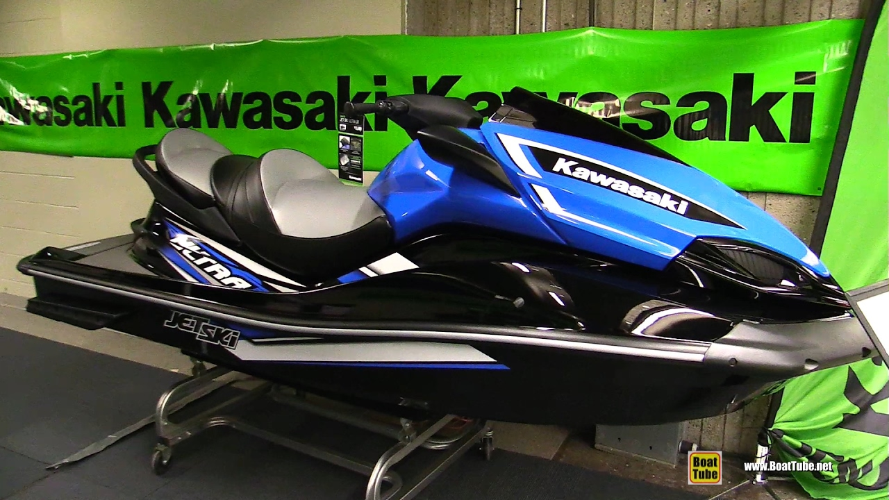 2017 Kawasaki Ultra LX Jet Ski - Walkaround - 2017 Montreal Boat ...