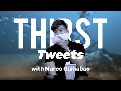 Marco Gumabao Reads Thirst Tweets