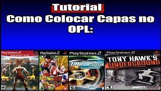 Como Colocar Capa nos Jogos de PS2(OPL)| Primeiro Vídeo 2018!!! by Goten  Joestar #TropaDoCafé
