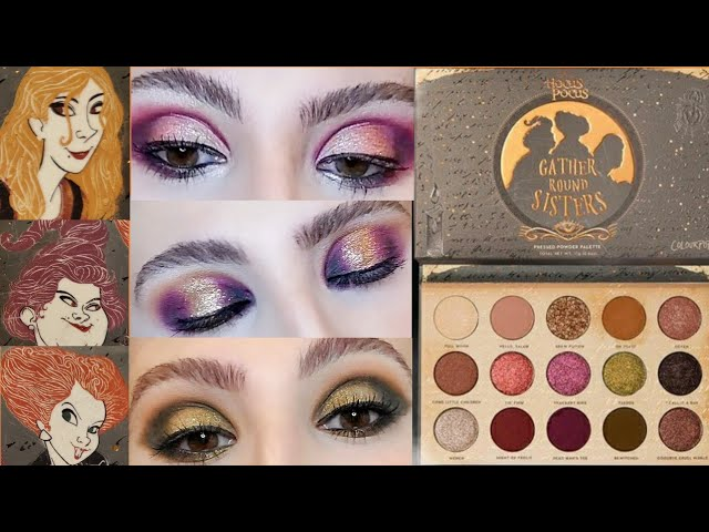 Hocus Pocus Eyeshadow Palette Review
