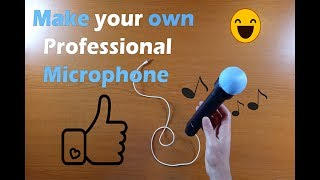 How to make Professional Recording Microphone at Home