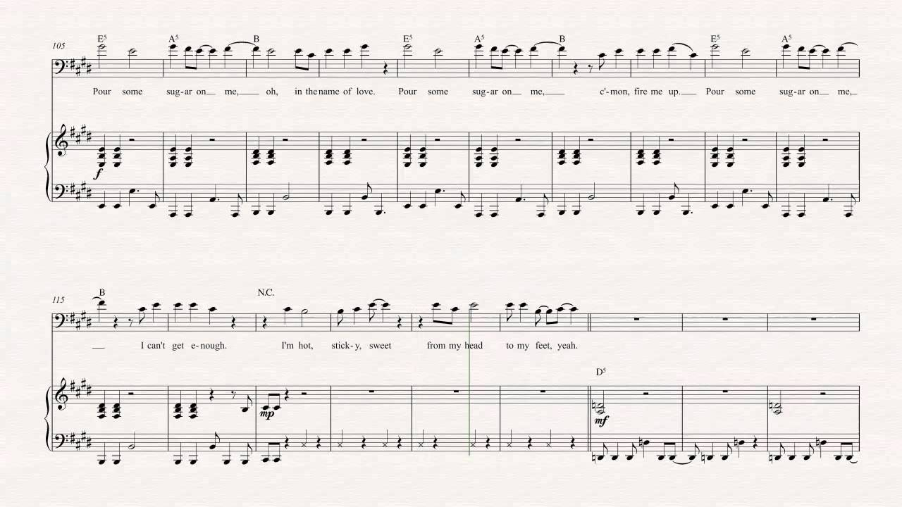 Awesome Sugar Sugar Chords Ornament Beginner Guitar Piano Chords