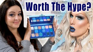 Jeffree Star Blue Blood Palette Review - Is it actually GOOD? | Jen Luvs Reviews