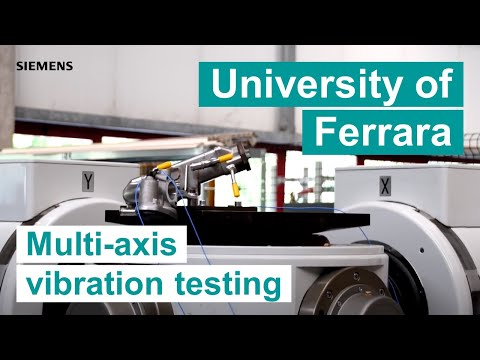 [University Of Ferrara] Multi-axis Vibration Testing Using Simcenter Testing Solutions