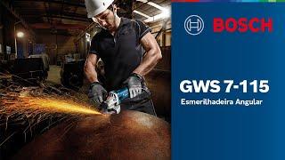 Esmerilhadeira Angular GWS 7-115