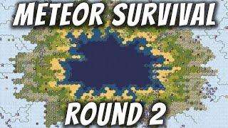 Civilization 6 Meteor Survival - Round 2