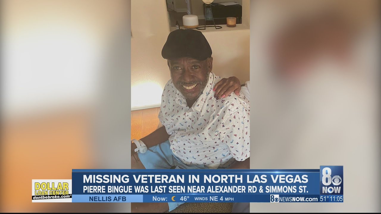 North Las Vegas Police search for missing Army vet