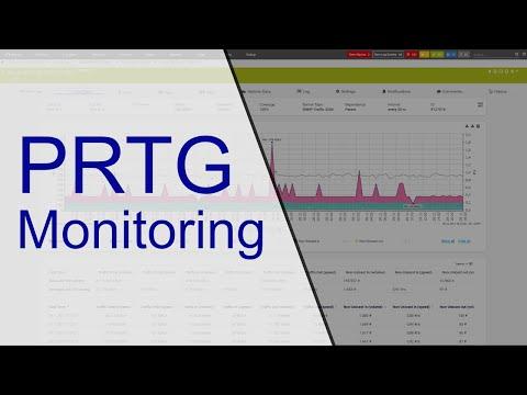 Monitoring mit PRTG - YouTube