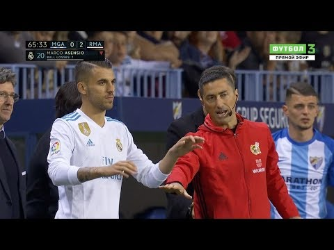 Dani Ceballos vs Malaga Away (15/04/2018) HD 720p By OG2PROD