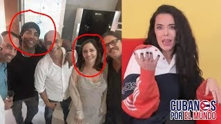 Beatriz Luengo explica procedencia de la foto donde está con su esposo Yotuel junto a Mariela Castro