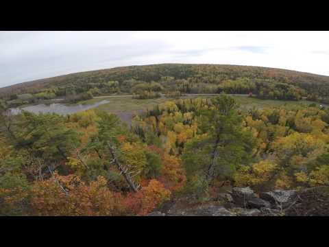 Fall Colors At Cliff Mine Upper Michigan - GoPro
