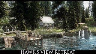 TES V - Skyrim Mods: Hawk's View Retreat by tzarbaby000