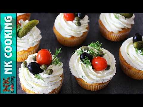 Сырные Капкейки Для Мужчин 🧀 23 Февраля 🧀 Рецепты NK Cooking