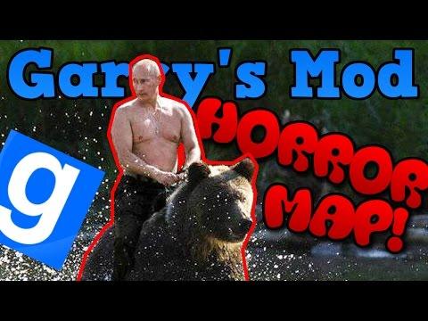 RUSSIAN HORROR EDITION! (2/2) - Garry's Mod (Z Kumplami) #336 | HORROR MAP! /W: Admiros, Adzisław