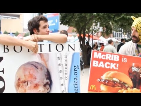The McRib Is Back! - Vermin Supreme, RP