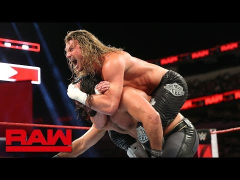 Seth Rollins vs. Dolph Ziggler - Intercontinental Championship Match: Raw, Sept. 17, 2018