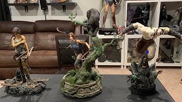 Weta Lara Croft Tomb Raider 1/4 Statue Unboxing and Review