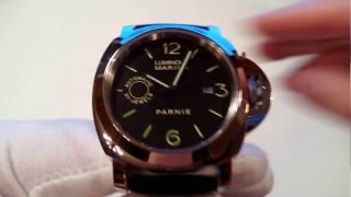 обзор китайских часов Parnis хомаж на Панерай