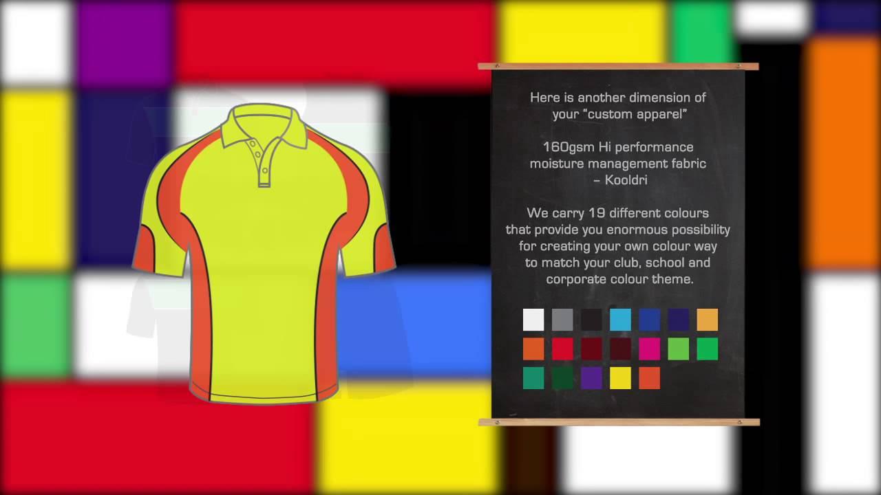 School shirt design your own - Design Your Own Sportswear