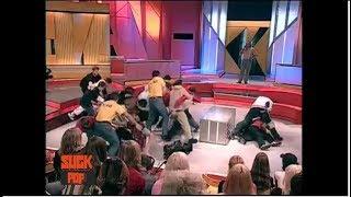 """Драка Реперов на ток-шоу """"Окна"""" с Дмитрием Нагиевым (2002)"""