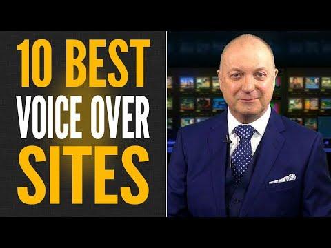 VOICE OVER JOBS - 10 BEST WEBSITES TO FIND VOICE OVER JOBS