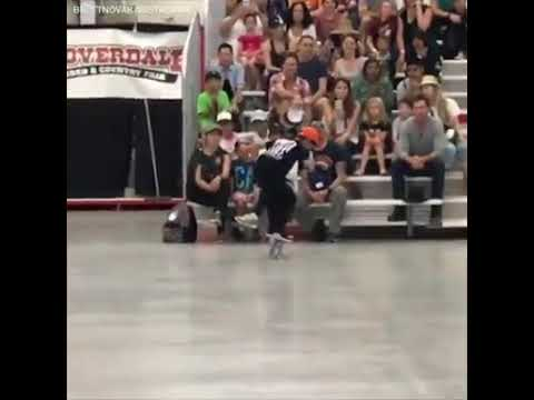 Moran - This 10 year-old skateboarder has mesmerizing moves