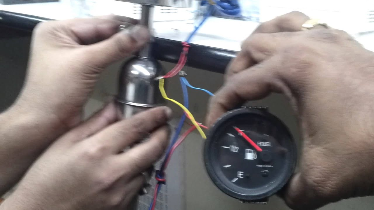 Fuel level gauge mp4 youtube on wiring diagram for fuel gauge on boat VDO Gauge Wiring Diagram Moeller Fuel Gauge Wiring Diagram