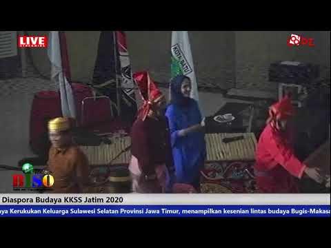 Diaspora Budaya Kerukukan Keluarga Sulawesi Selatan Provinsi Jawa Timur 22 Februari 2020.