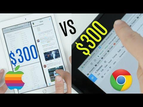 $330 iPad vs $300 Chromebook!