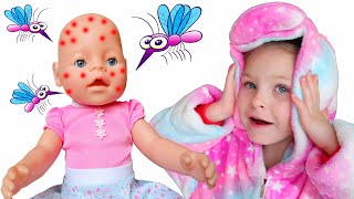 Miss Polly had a dolly song – Children songs by KybiBybi Colors