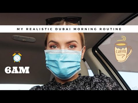 MY REALISTIC MORNING ROUTINE IN DUBAI | Skincare, Vitamins and Journaling