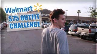 $75 WALMART OUTFIT CHALLENGE! w/ Jesser & TD