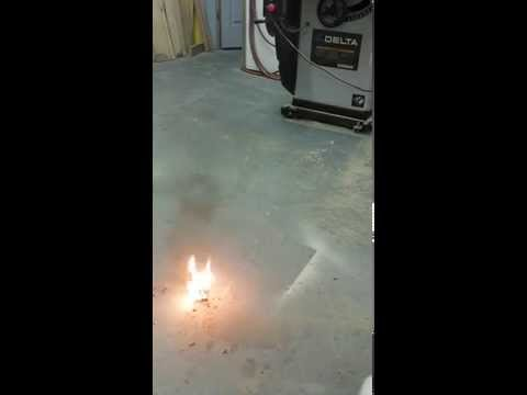Lithium Ion battery burns