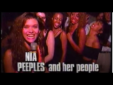 Nia Peeples Hosts MTV Friday Night Street Party (1990)