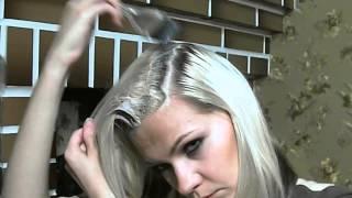 видео Как покрасить кончики волос??