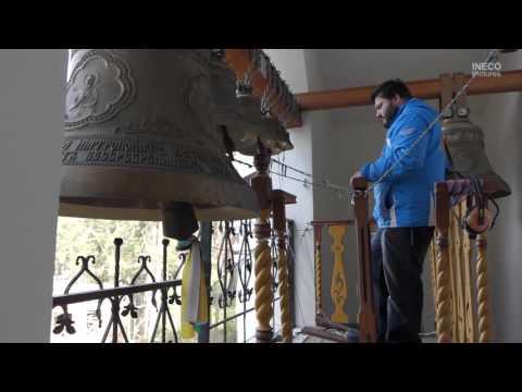 Праздничная служба на Покрова в храме Косьмы и Домиана в Жуковском