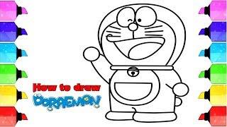 Doraemon drawing | Drawing of doraemon | Doraemon cartoon | Doraemon drawing easy