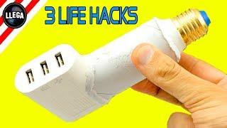 3 TONTERÍAS QUE MUCHA GENTE NO SABE HACER | Smartphone Life Hacks!