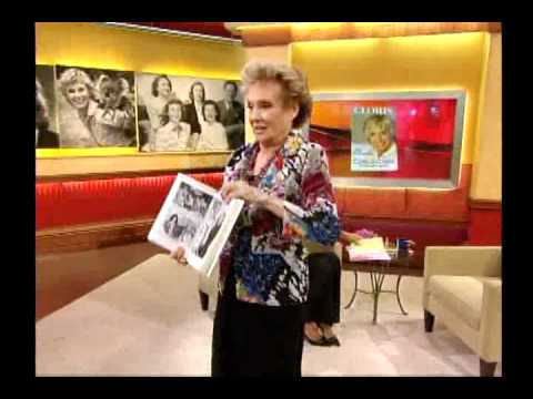 "Cloris Leachman being interviewed about her autobiography on ""Good Morning America"""