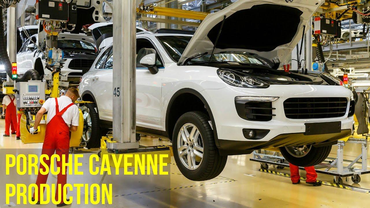 Porsche Cayenne And Panamera Production